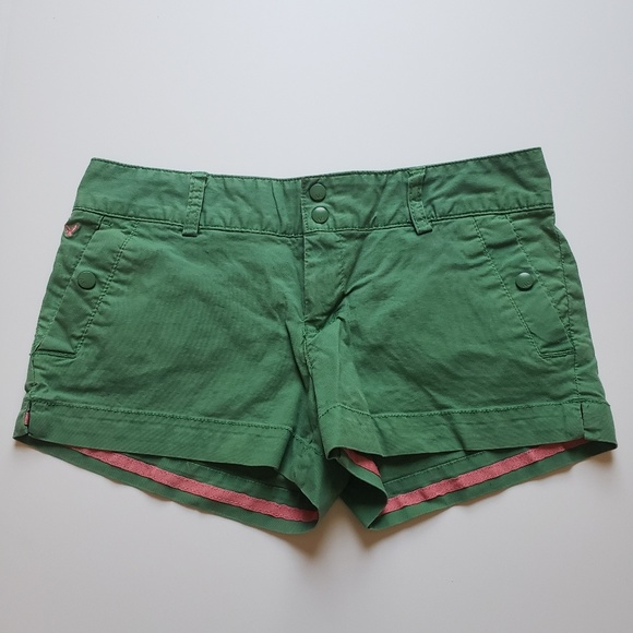 American Eagle Outfitters Pants - AMERICAN EAGLE Green Chino Shorts, 6